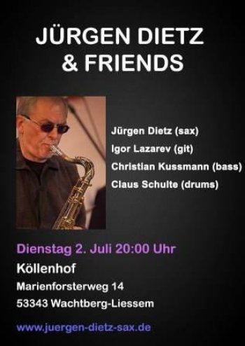 Jürgen Dietz & Friends (Fotocollage: J. Dietz)